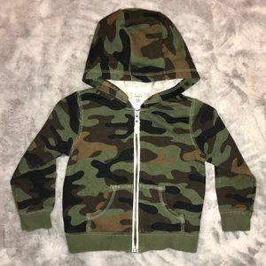 Shirts & Tops - NEW! 18m - Carter's Zip-Front Camo Hoodie